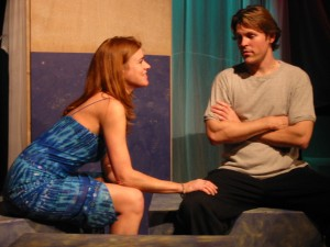 With Carol Shannon (Maddy) and Jason Morck (Kelly) DEAD GIRL'S DIARY, Playwrights 6, 2002
